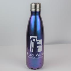 Steel Insulated Water Bottle - New Logo