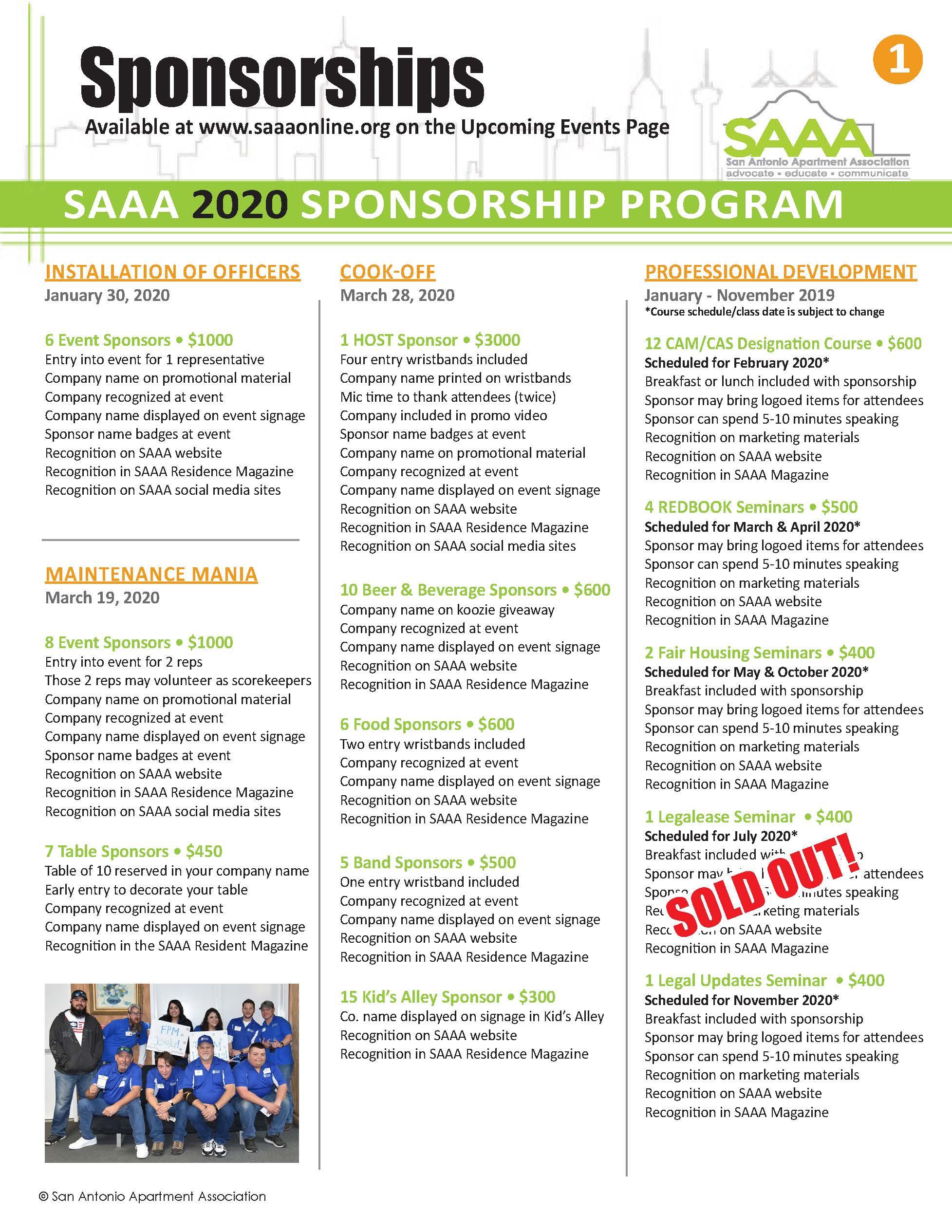 Sponsorship page 1