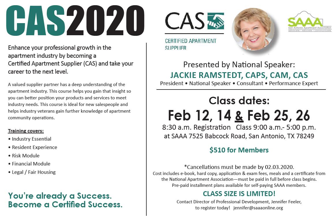CAS flyer