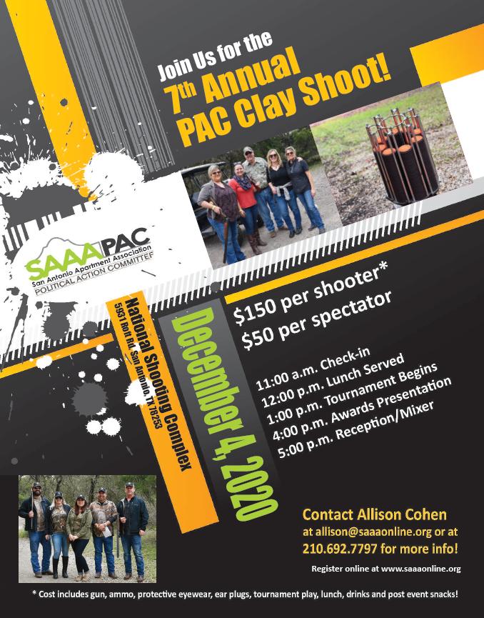 PAC Clay Shoot 2020