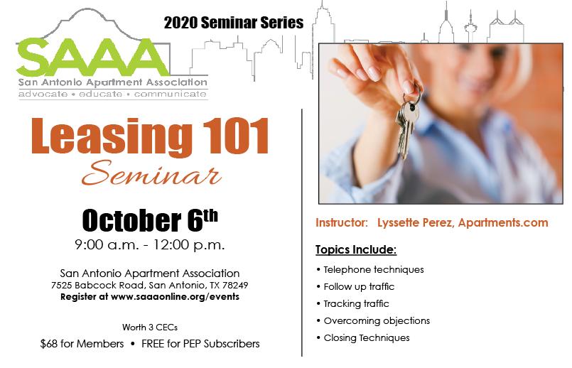Leasing 101 October 2020