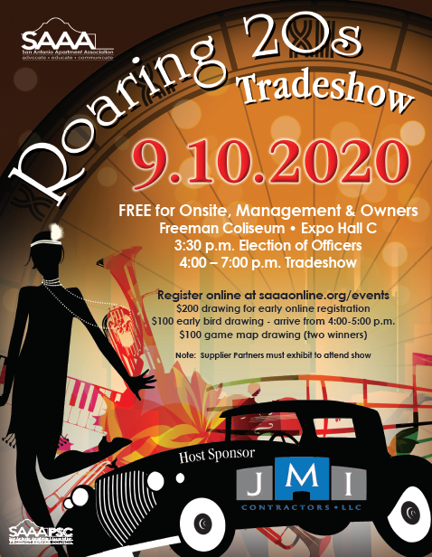 Tradeshow 2020 flyer new time