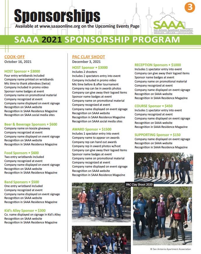 2021 Sponsorships page 3