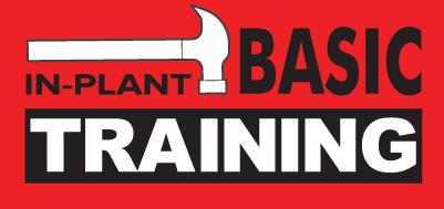 In plant basic training logo