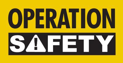 Operation safety logo