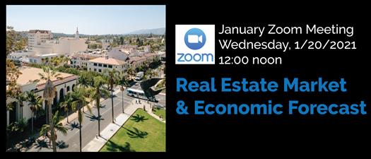 Zoom Meeting: Real Estate Market & Economic Forecast