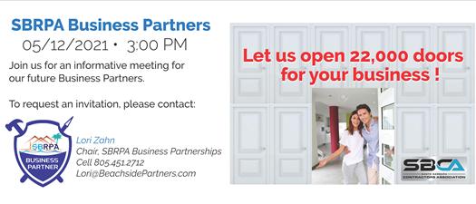 Become an SBRPA Business Partner