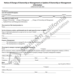 Digital #205Change of Ownership/Management