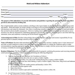 Digital #269Mold and Mildew Addendum