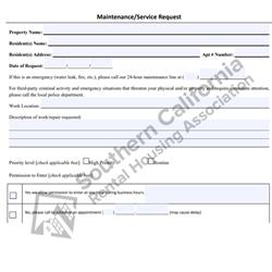 Digital #320Service/Maintenance Request