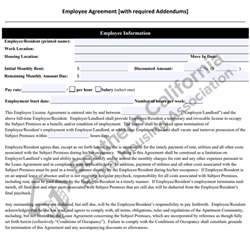Digital #700Employee Agreement with Required Addendums