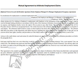 Digital #730Mutual Agreement to Arbitrate Claims