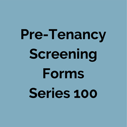Printed #140 Reference Form for Rental Applications