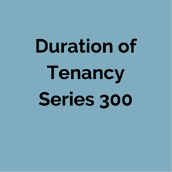 Printed #350 Notice of Change of Terms of Tenancy