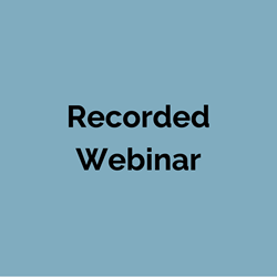 Recorded Webinar Dealing with Evictions