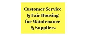 Black Hills Maintenance & Supplier Education