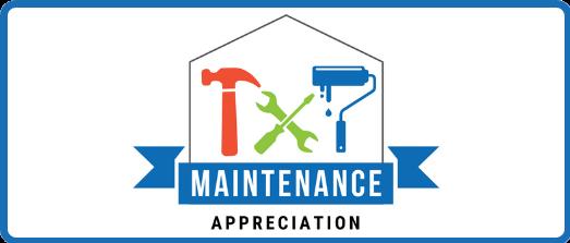Maintenance Appreciation