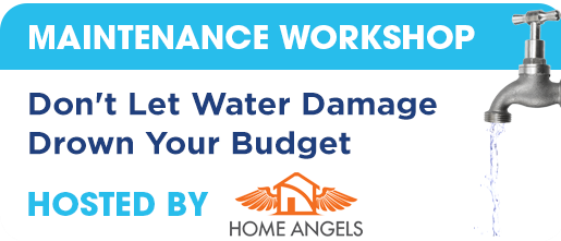 Maintenance Workshop - Water Damage