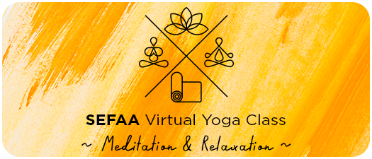 SEFAA's Yoga Class Powered by Torch Fitness!