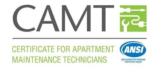Certificate for Apartment Maintenance Technicians (CAMT) - SOLD OUT!