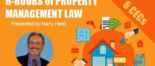 Harry Heist Legal Seminar