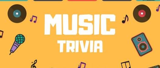 Music Trivia Virtual Happy Hour