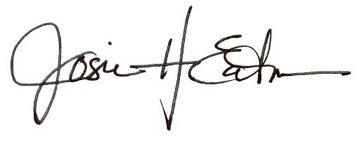 Josie Eatmon signature