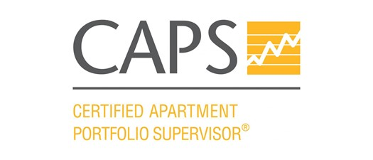 2019 Certified Apartment Portfolio Supervisor (CAPS) Credential Program
