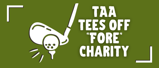 "TAA Tees Off ""Fore"" Charity"