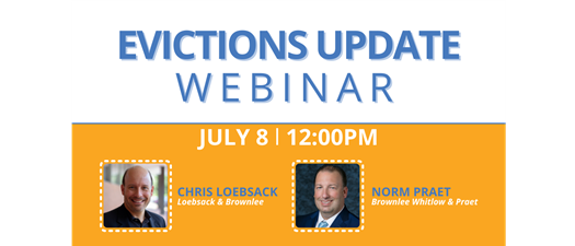 AANC Webinar: Evictions Update with Chris Loebsack & Norm Praet