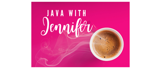 Java with Jennifer: Virtual New Member Meet-Up