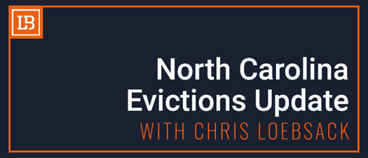 North Carolina Evictions Update