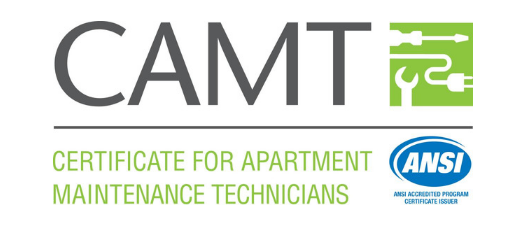 2019 Certificate for Apartment Maintenance Technicians (CAMT)