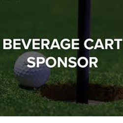 Beverage Cart Sponsor - Golf Tournament (Front & Back Nine)