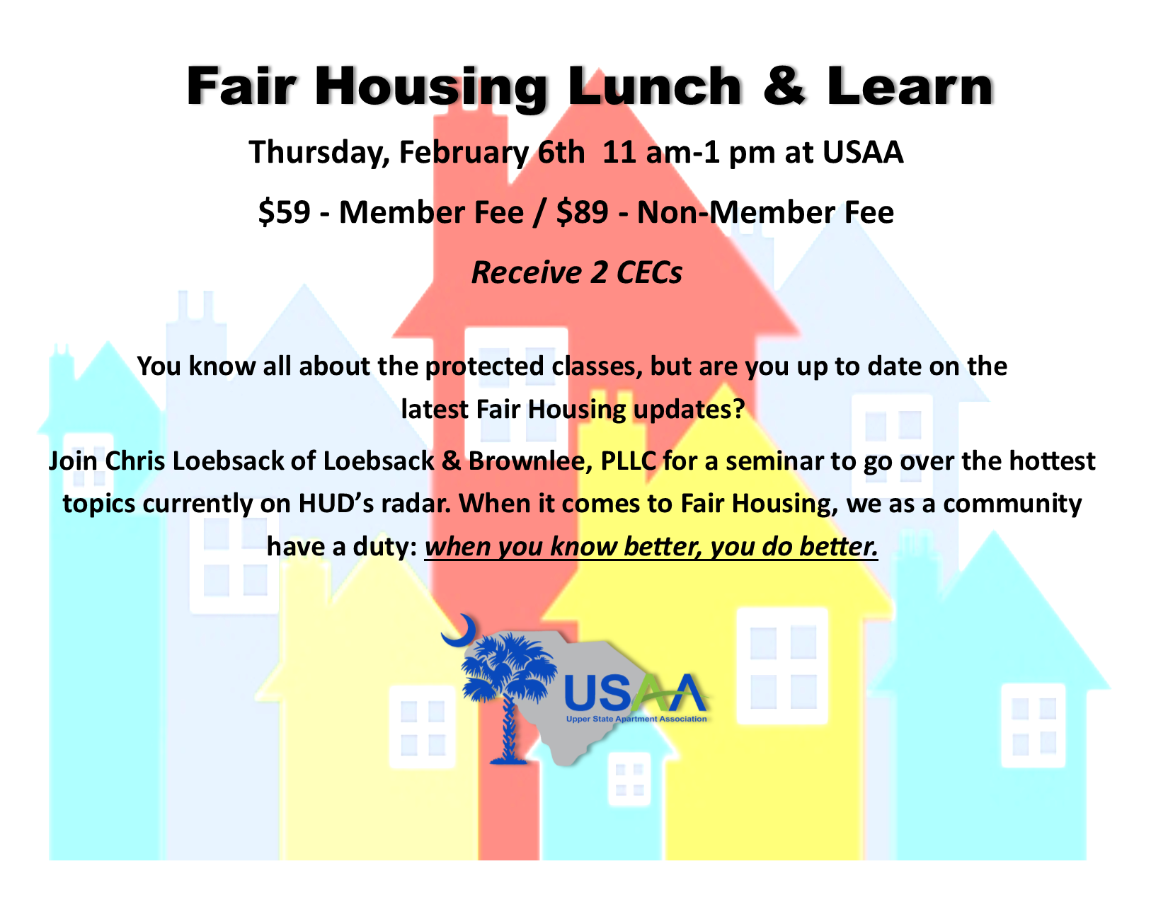 Fair Housing Course Upper State Apartment Association