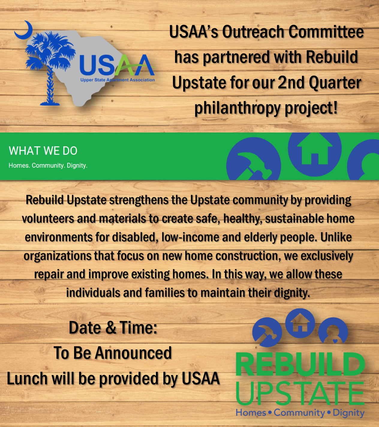 Outreach Projects Upper State Apartment Association