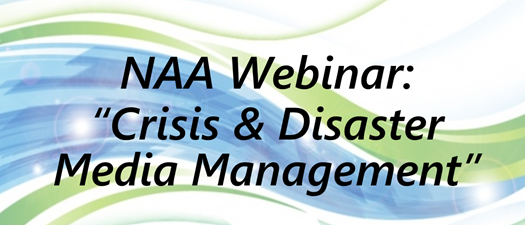 Webinar: Crisis & Disaster Media Management