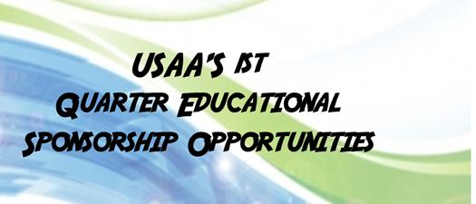 1st Quarter Sponsorship Opportunities