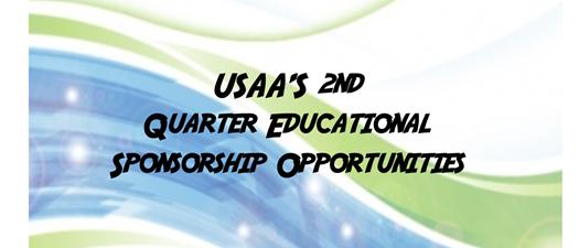 2nd Quarter Sponsorship Opportunities