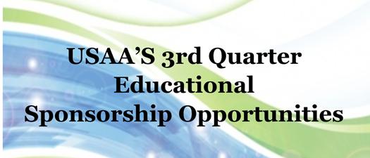 3rd Quarter Sponsorship Opportunities