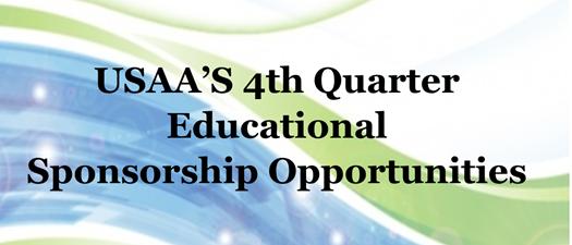 4th Quarter Sponsorship Opportunities