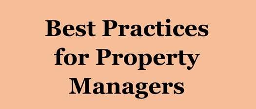 Mini Webinar: Best Practices for Property Managers