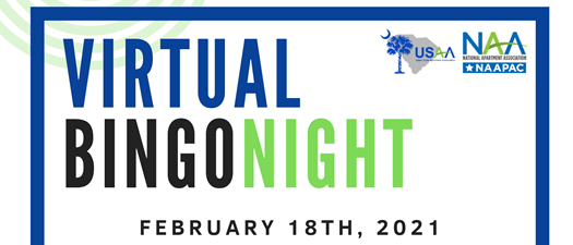 Virtual BINGO Night to Support NAAPAC