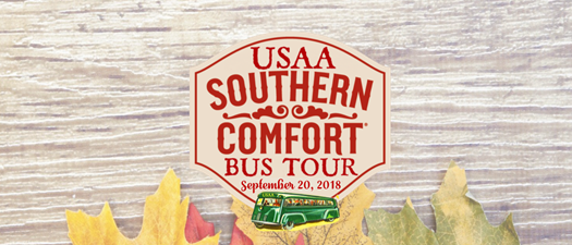 USAA's New Construction Bus Tour