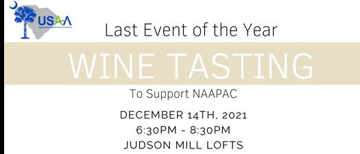 Wine Tasting & NAAPAC Event