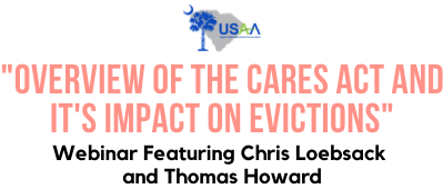 """Overview of the CARES Act and Its Impact on Evictions"" - Webinar"
