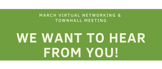 March VIRTUAL Monthly Meeting