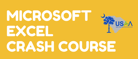 Microsoft Excel Crash Course