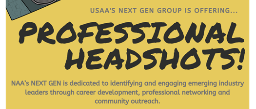 Headshots at USAA - Sponsored by NAA NextGen