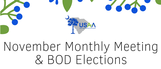 November Monthly Meeting & Board Elections